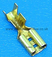 4.8mm MALE & FEMALE UN-INSULATED SPADE TERMINALS